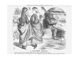 A Sea-Side Riddle, 1866 Giclee Print by John Tenniel