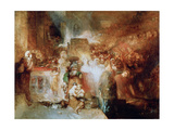 Pilate Washing His Hands, 1830 Giclee Print by Joseph Mallord William Turner