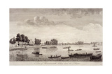 View of Hammersmith with Water Craft on the River Thames, Hammersmith, 1752 Wydruk giclee autor John Boydell