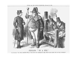 Fenians in a Fix, 1865 Giclee Print by John Tenniel