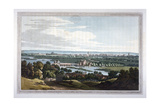 View of Reading from Caversham, Berkshire, 1793 Giclee Print by Joseph Constantine Stadler