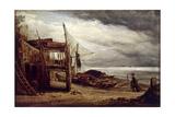 A Coast Scene, 1860 Giclee Print by John Linnell