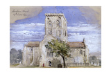 Shoreham Church, Kent, 1844 Giclee Print by John Gilbert