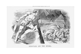 Hercules and the Hydra, 1870 Giclee Print by Joseph Swain