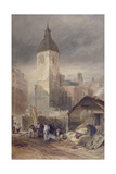 Demolition of the Church of St Benet Fink, City of London, 1844 Giclee Print by John Wykeham Archer