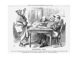 Licensing Day, 1867 Giclee Print by John Tenniel