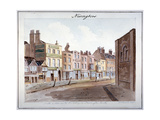 Newington, Southwark, London, 1825 Giclee Print by John Hassell