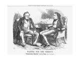 Waiting for the Verdict, 1865 Giclee Print by John Tenniel