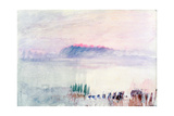 Funeral at Lausanne, 1841 Giclee Print by Joseph Mallord William Turner