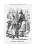 Political Kidnapping, 1867 Giclee Print by John Tenniel