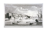 View Near Limehouse Bridge, London, Looking Down the River Thames, 1751 Wydruk giclee autor John Boydell