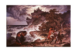 Macbeth and the Witches, 1835 Giclee Print by Joseph Anton Kock