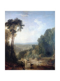 Crossing the Brook, C1815 Giclee Print by Joseph Mallord William Turner