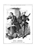 Rival Arbiters, 1866 Giclee Print by John Tenniel
