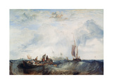Entrance of the Meuse..., C1819 Giclee Print by Joseph Mallord William Turner