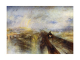 Rain, Steam and Speed - the Great Western Railway, C1844 Giclee Print by Joseph Mallord William Turner