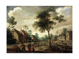 Country Celebration, 17th Century Giclee Print by Joost Cornelisz Droochsloot