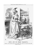 Rest, and Be Very Thankful, 1866 Giclee Print by John Tenniel