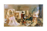 Watteau Study by Fresnoy's Rules, 1831 Giclee Print by Joseph Mallord William Turner
