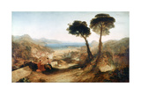 The Bay of Baiae, with Apollo and the Sibyl, C1823 Giclee Print by Joseph Mallord William Turner