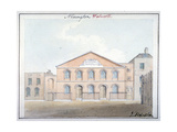 Beresford Chapel, Beresford Street, Southwark, London, 1824 Giclee Print by John Hassell