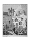 Ruins of the Church of St Clare Minoressess Without Aldgate, City of London, 1812 Giclee Print by John Thomas Smith