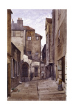 Cloth Fair, London, 1884 Giclee Print by John Crowther