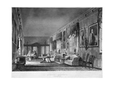 Interior View of Dr Fisher's Apartments, Charterhouse, Finsbury, London, 1816 Giclee Print by Joseph Constantine Stadler