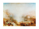 Mercury Sent to Admonish Aeneas, 1850 Giclee Print by Joseph Mallord William Turner