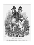 The City Police, 1863 Giclee Print by John Tenniel