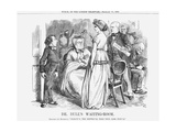 Dr. Bull's Waiting-Room, 1868 Giclee Print by John Tenniel