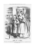 John in a Mess, 1864 Giclee Print by John Tenniel