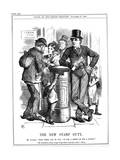 The New Stamp Duty, 1880 Giclee Print by John Tenniel