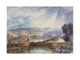 More Park Near Watford, 1823 Giclee Print by Joseph Mallord William Turner