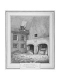 Interior View of a Kitchen, Leathersellers' Hall, Little St Helen'S, City of London, 1800 Giclee Print by John Thomas Smith