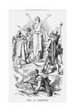 Viva La Libertád, 1868 Giclee Print by John Tenniel