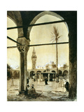 Mosque, Cairo, Egypt, 1928 Giclee Print by Louis Cabanes