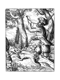 German Huntsman, 16th Century Giclee Print by Jost Amman