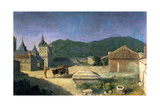 View of the Escorial, Spain, Early 18th Century Giclee Print by Michel-ange Houasse