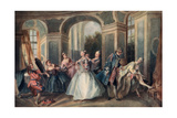 The Age of Man, Youth, 1730-1735 Giclee Print by Nicolas Lancret