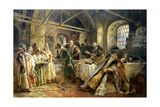 The Kiss Ceremony, 1895 Giclee Print by Konstantin Makovsky