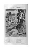Perseus Rescuing Andromeda, 1615 Giclee Print by Leonard Gaultier