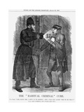 The Habitual Criminal Cure, 1869 Giclee Print by John Tenniel