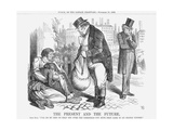 The Present and the Future, 1862 Giclee Print by John Tenniel