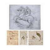 The Sforza Monument, C1488-1493 Giclee Print by  Leonardo da Vinci