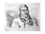 Kamehameha I, C1770-1819 Giclee Print by Ludwig Choris