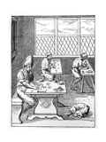 Pin and Needle Maker, C1559-1591 Giclee Print by Jost Amman