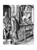 Harquebusier or Hand-Gun Maker, C1559-1591 Giclee Print by Jost Amman