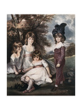 Juvenile Retirement, 18th Century Giclee Print by L Edwards