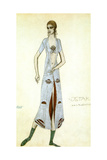 Costume Design for Ida Rubinstein as Ishtar, 1924 Giclee Print by Leon Bakst